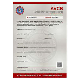 Empresa de Avcb bombeiros