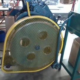 Proteções de máquinas e equipamentos rotativos